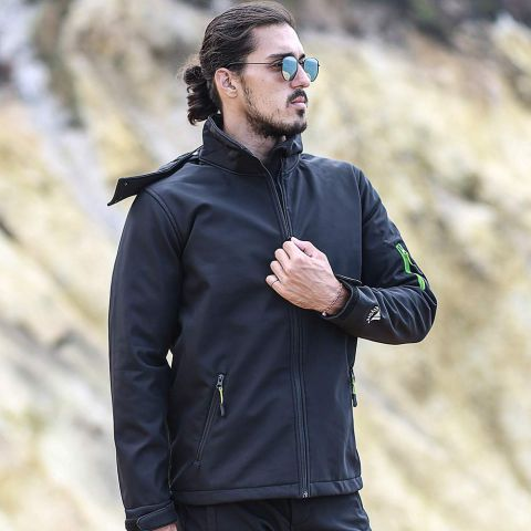 Flam Softshell Coat